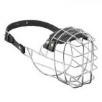'The Silencer' Wire Cage Mastiff Muzzle With One Strap
