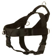 Mastiff Harness Nylon with Patches