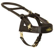 Guide and Assistance Leather Mastiff Harness