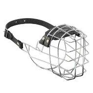 Wire Cage Mastiff Muzzle With One Strap