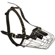 Wire Basket Mastiff Muzzle for Comfortable Walking and Training
