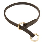 Mastiff Leather Choke Collar Effective Training