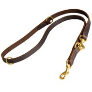 Multifunctional Leather Mastiff Leash