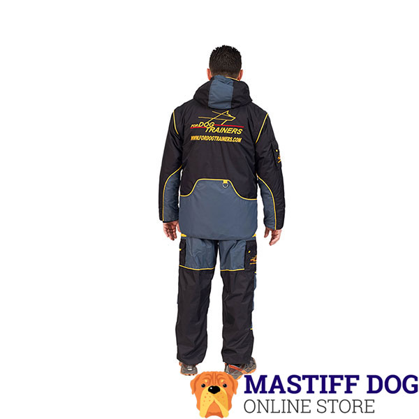 Train your Canine in Lightweight and Weatherproof Dog Bite Suit