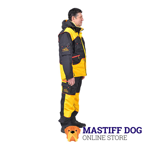 Handy Dog Training Suit with Several Pockets