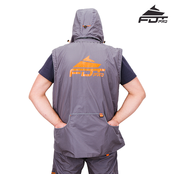 Best quality Dog Trainer Suit of Grey Color from FDT Wear