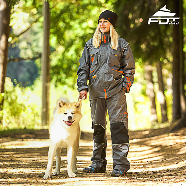 Men and Women Design Dog Tracking Jacket of Top Notch Materials