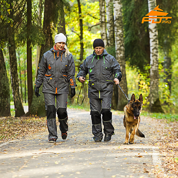 Unisex Dog Training Suit for Men and Women for Any Weather Conditions
