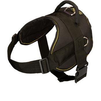 Nylon All Weather Mastiff Harness for Service Dogs