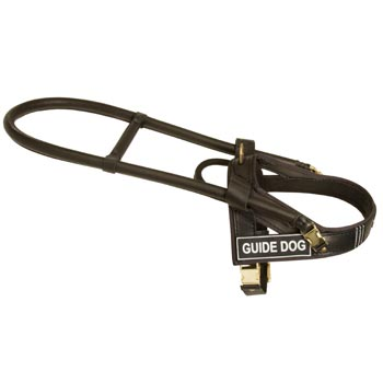 Mastiff Guid Harness Leather for Dog Assistance