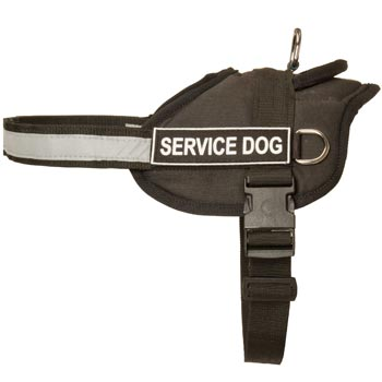 Mastiff Harness Nylon with Reflective Strap