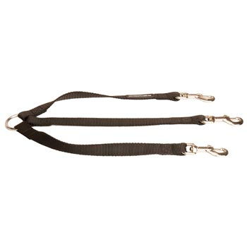 Triple Nylon Leash for Walking 3 Mastiff Dogs