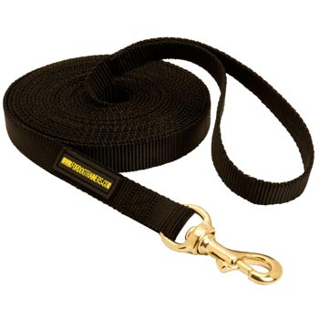 Tracking Extra Long Nylon Mastiff Leash