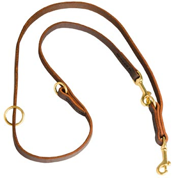 Multipurpose Leather Mastiff Leash